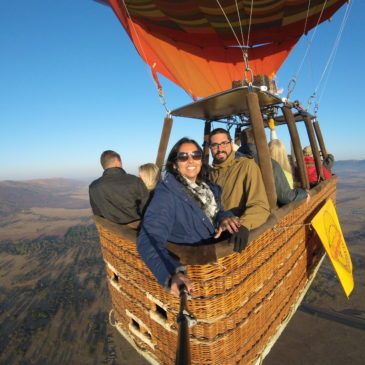 Passeio de balão na África do Sul: conheça o Bill Harrop's Balloon Safari