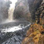 Trilha da Cachoeira do Buracão, na Chapada Diamantina