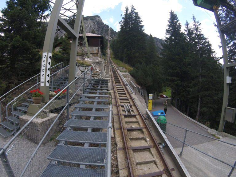 Funicular Gelmerbahn na Suíça