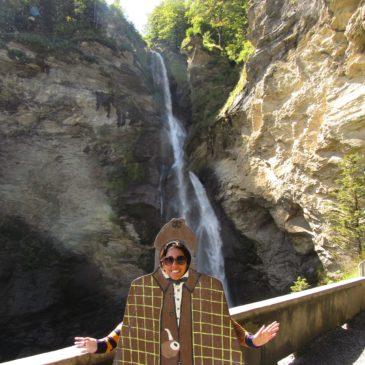 Reichenbach Fall: cachoeira do Sherlock Holmes em Meiringen, na Suíça