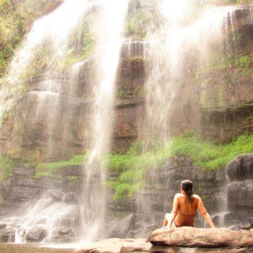Cachoeira da Mariquinha é uma das belezas de Ponta Grossa, no Paraná