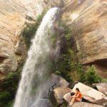 Ir à Cachoeira do Rio São Jorge é um ótimo passeio em Ponta Grossa, no Paraná