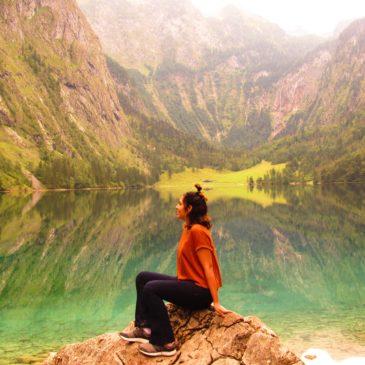 Os lindos lagos Konigssee e Obersee, na Alemanha