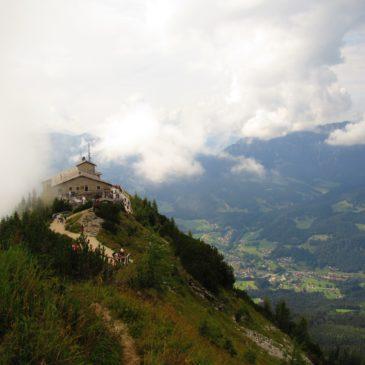 Ninho da Águia (Eagle's Nest), antigo refúgio de Hitler, é um ponto turístico interessante na Alemanha