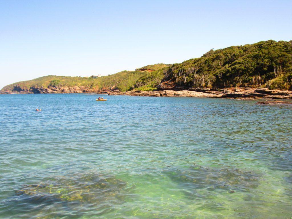 Praia do Forno, em Búzios