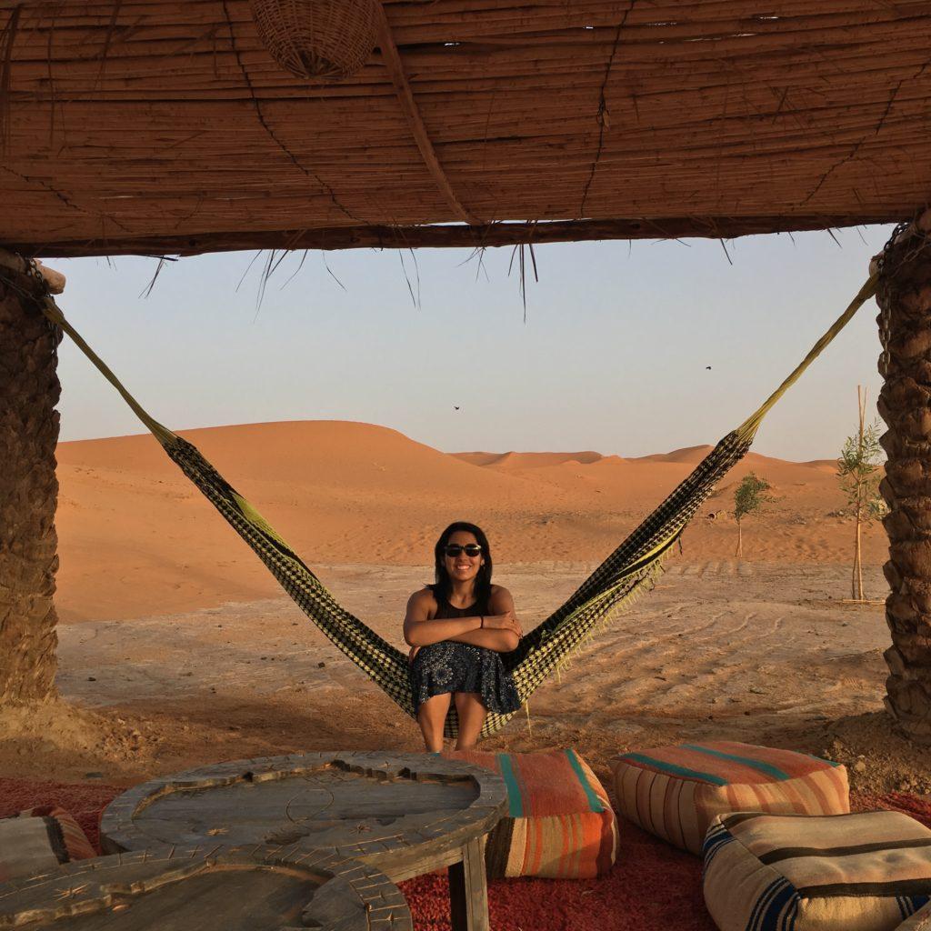 Uma noite no deserto do Saara no Sahara Majestic Luxury Camp, no Marrocos