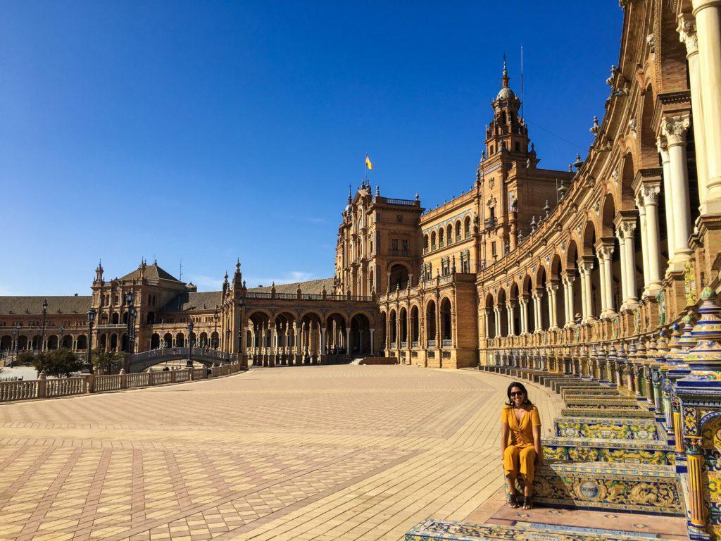 Praça de Espanha de Sevilha