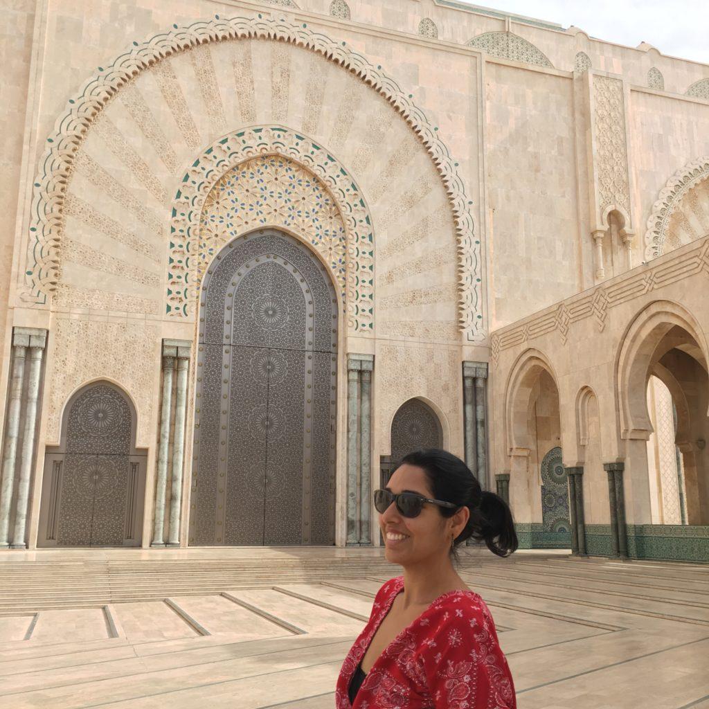 Mesquita Hassan II, em Casablanca