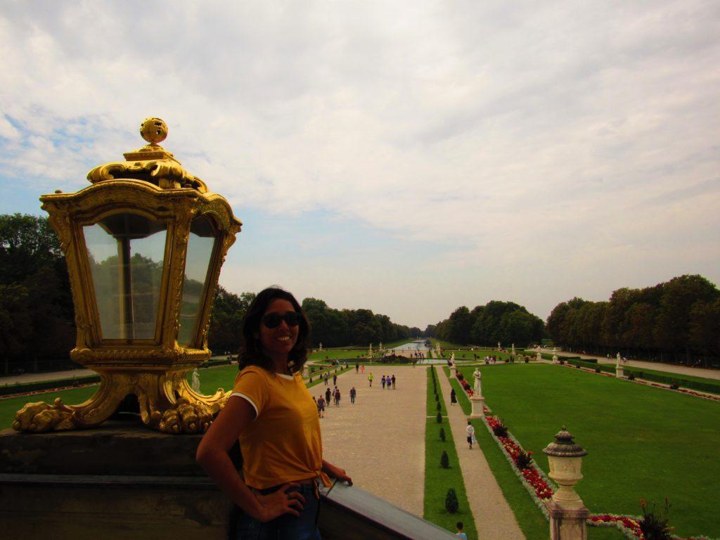 Palácio em Munique: jardins do Nymphenburg