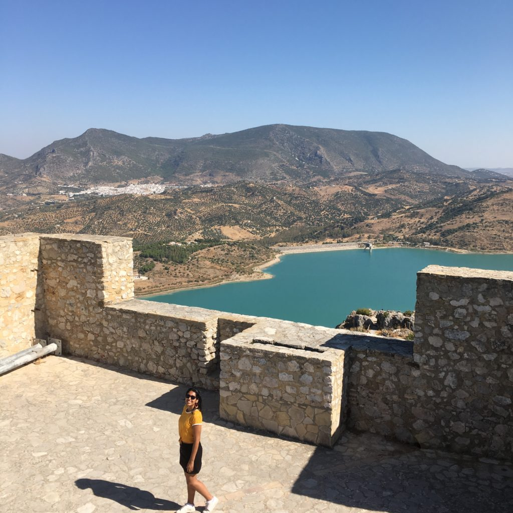 Vista do Castelo de Zahara de la Sierra