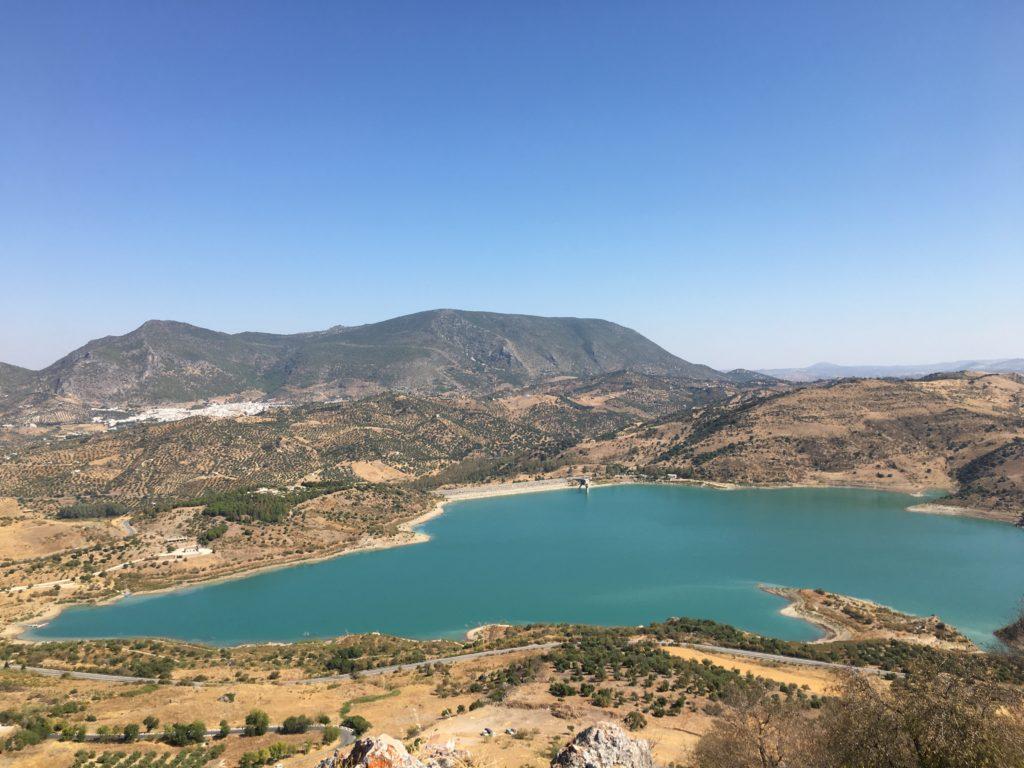 Reservatório em Zahara de la Sierra