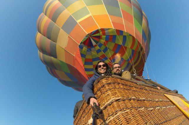 Passeio de balão na África do Sul